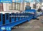 Colored Steel Double Layer Roof Panel Roll Forming Equipment Hydraulic Cutting