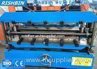Double Layer Metal Roof Roll Forming Machine Making Two Different Roof Sheets
