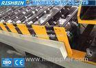 7.5 KW Color Steel Eaves Trim Roof Panel Roll Forming Machine Chain Transmission