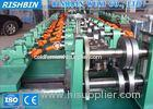 Hot Rolled Coils C Z Section Steel Purlin Roll Forming Machine 45 Steel Shaft