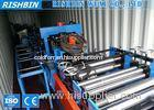 Construction Structure C Z Section Roll Forming Machine Quick Interchanged