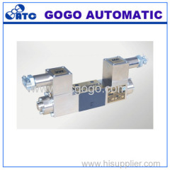 Explosion isolation proportional directional control valve