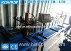 5.5 KW Steel Fabricated OMG Roll Forming Machine with Inline Pre Holes Punching