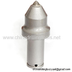 Hardness foundation drilling carbide auger bit