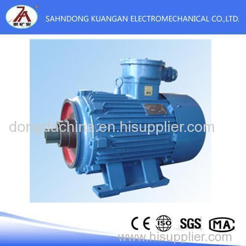 three-phase asynchronous motor YBJ series flameproof