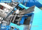0.5 - 0.8 mm Steel Octangle Lighting Tube Roll Forming Machinery with Post Cutting