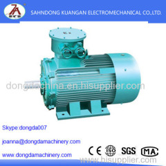 Three-phase asynchronous motor YBK2 Series flameproof