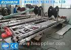 Colored Steel Squared Downspout Pipe Roll Forming Machine For Rainwater Downpipe
