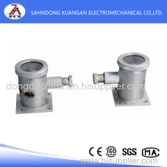 Mine intrinsically safe type infrared sensor transmitter