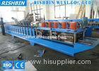 Galvanized Roller Shutter Door Frame Roll Forming Machinery with 8 - 12 m / min