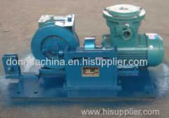 mining retractable winch for coal equipment