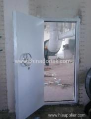 steel structured explosion proof doors