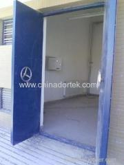 single swing steel blast resistant doors