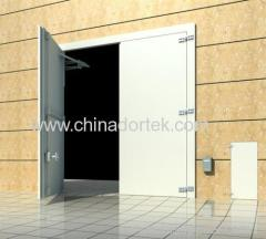 double leaves steel structure blast resistant doors