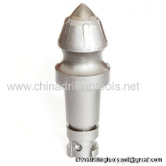 Manufacture Tungsten Carbide round shank bullet tooth