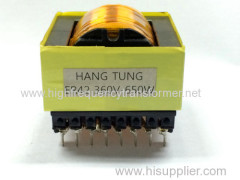 High frequency ER series switch transformer UL RoHS approved