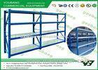 Cold Rolling Steel Reliable Warehouse Storage Racks / industrial pallet shelving