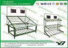Powder Coated Metal ( Iron ) Wire fruit and vegetable shop displays Eco - friendly