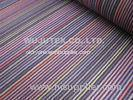 Stable Quality Normal soft Cotton Nylon Fabric Spandex , Plain Weave , Stripe Fabric