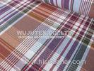 Stable Quality Nice soft 100% Cotton Yarn Dyed Fabric , Plain Weave Plaid Fabric