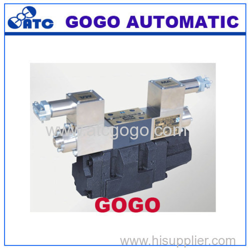 Explosion isolation proportional electro-hydraulic directional control valve