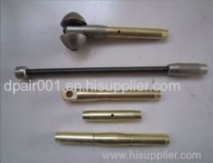 6mm Movable duct rod