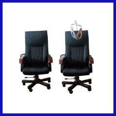 Cervical vertebra hauling office chair