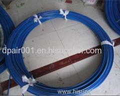 Exportable wall duct rod