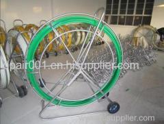 Outdoor fiberglass duct rod