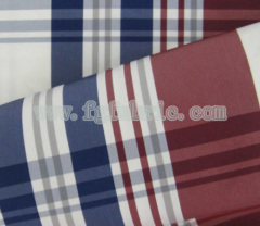 Yarn dyed imitation memory polyester cloth CWC-086