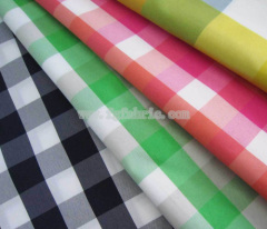 75D polyester yarn dyed fabric for children clothes CWC-038