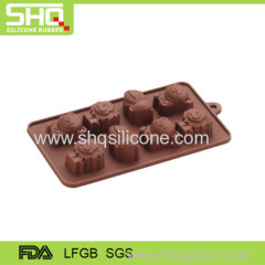 Animal shape silicone chocolater mold