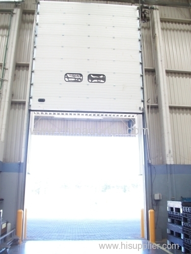 Industrial Sectional Doors with AC motors
