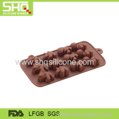 New design different shape silicone baking molds