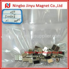 Block shaped nickel super magnet, miknatis