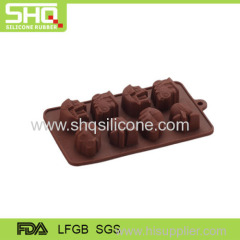 Fashionable silicone chocolate mould