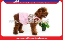 Luxury Paris Lolita dog Skirt for small dog and Teddy