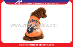 Comfortable cool cotton Pet Clothes for dog