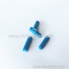 B connector with gel filled blue