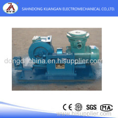retractable winch used for coal mine