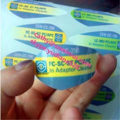 high quality adhesive sticker