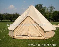 Canvas Bell tent / Tipi for camping