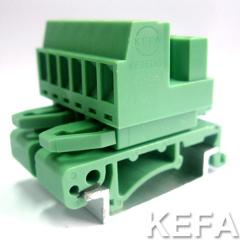 rail plugable terminal block KF2EDG-UST