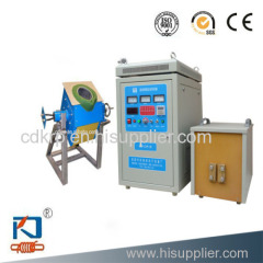 electromagnetic induction gold melting furnace
