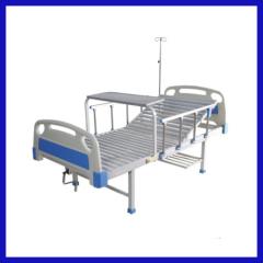 Manual metal hospital bed 2 crank
