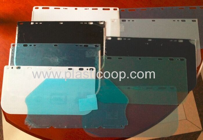 Clear And Color Uv380 Coating Anti Scratch Polycarbonate Pc Film Sheet
