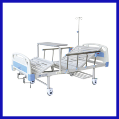 double swing 3 crank manual hospital bed