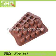 Hot sale heart shape chocolate mold