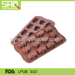 Non-slip robot chocolate mould