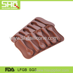 100% food grade spoon shape chocolate mold
